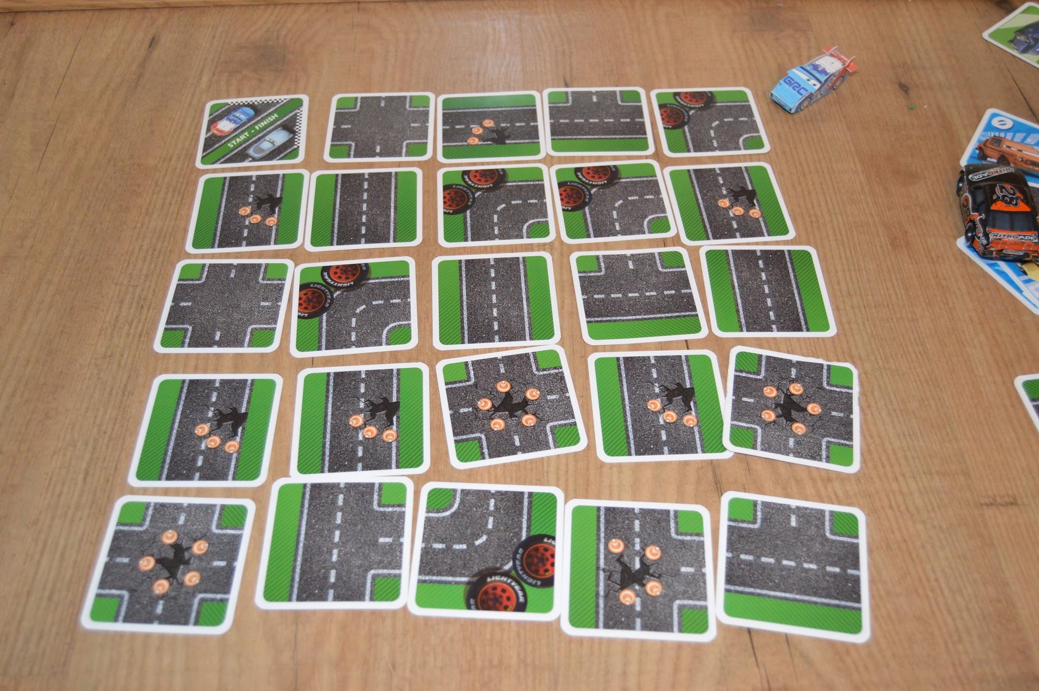 disney cars card game