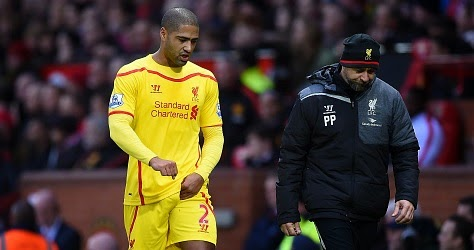 Liverpool full-back Glen Johnson on Roma's radar