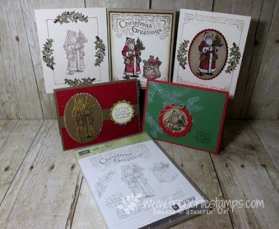 Father Christmas, Stamping Class in the mail, Free Shipping Stampin'Up!, Frenchiestamps,