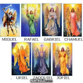 Imágenes de Ángeles de Dios 7 siete arcangeles nombres