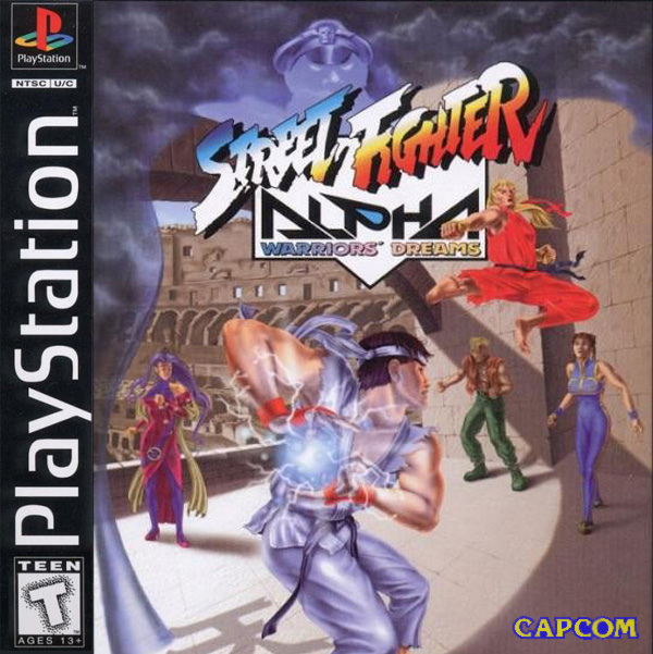 Street Fighter Alpha - Warriors Dreams - PS1 - ISOs Download