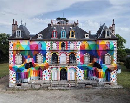 OKUDA SAN MIGUEL *skull mirror* castle | LaBel Valette - Festival of street culture