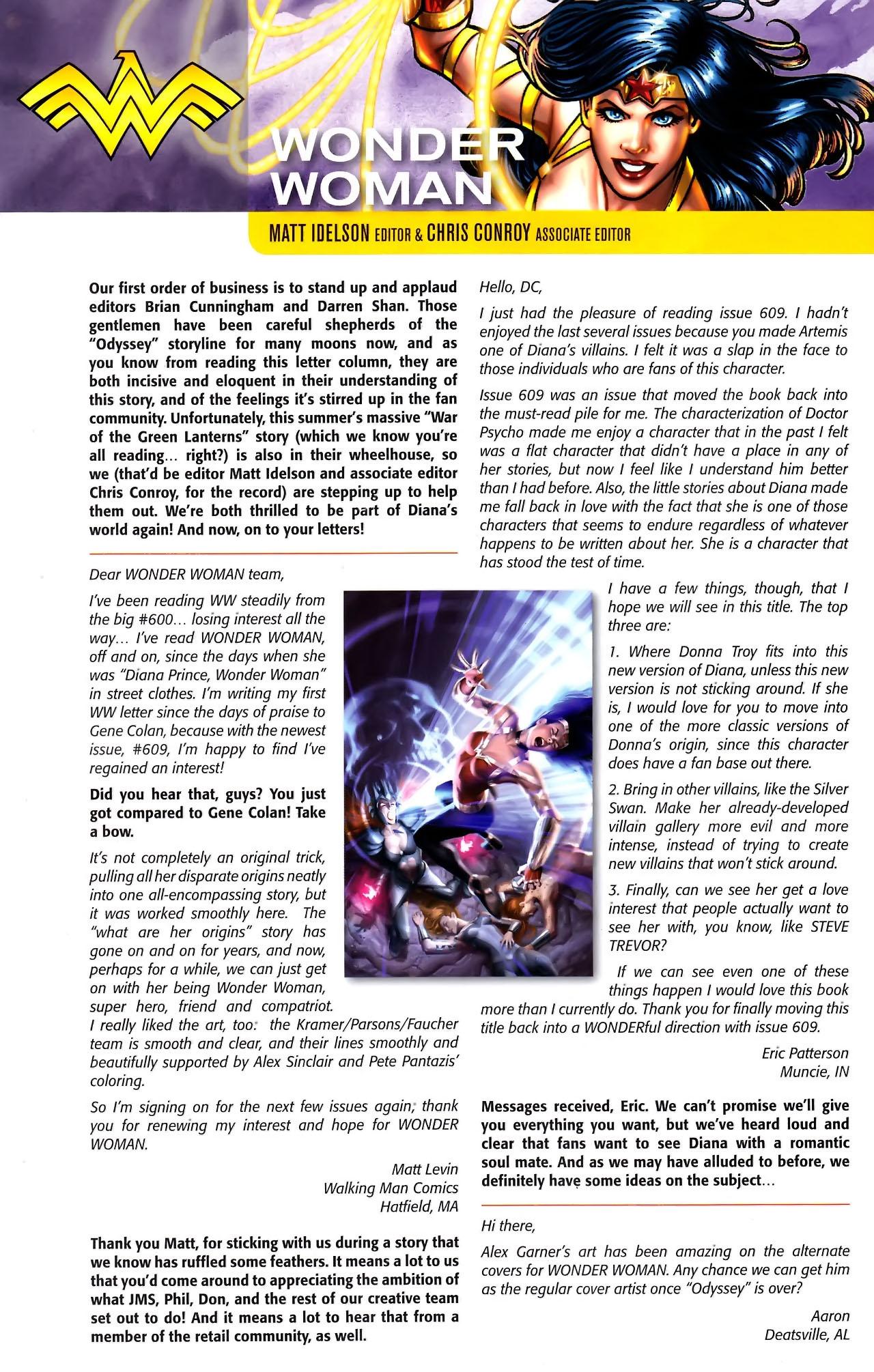 Read online Wonder Woman (2006) comic -  Issue #611 - 22
