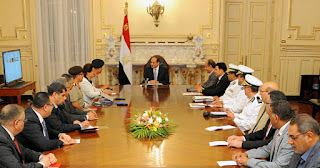 President Sisi meets Alexandria and Beheira leaders to plan Mahmudiyah axis