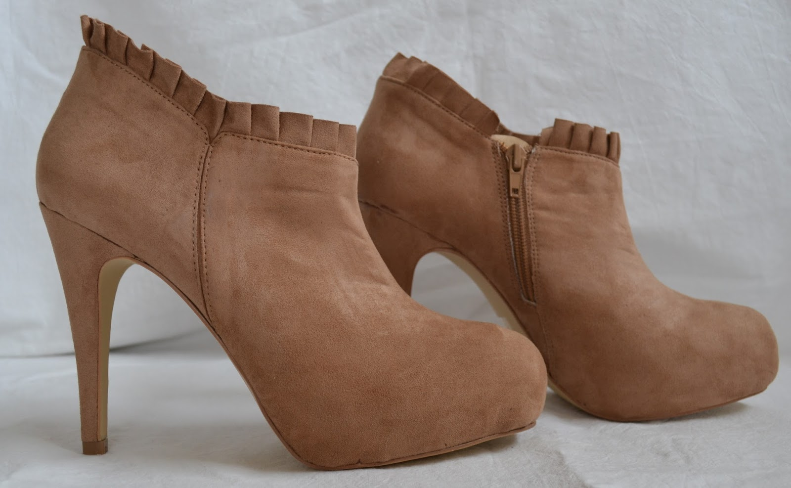high heeled shoes, boots