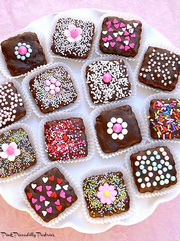Valentine Brownie: Brownie Bites For Valentine's Day