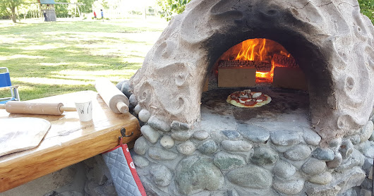 Making a Cob Oven: Setting the foundation