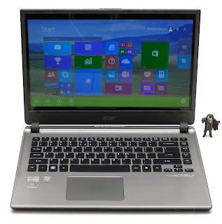 Laptop Gaming Acer M5-481TG Core i5 Double VGA Bekas Di Malang