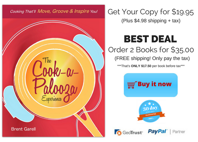 Buy the Cook-a-Palooza Experience Cookbook for $19.95