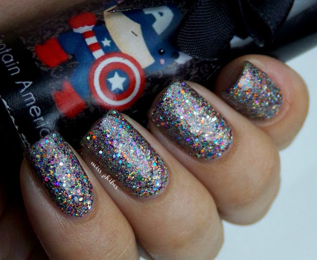 Esmaltes da Kelly  Captain America