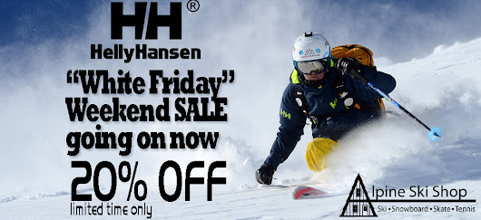 Helly Hansen Outerwear on SALE right now at Alpine