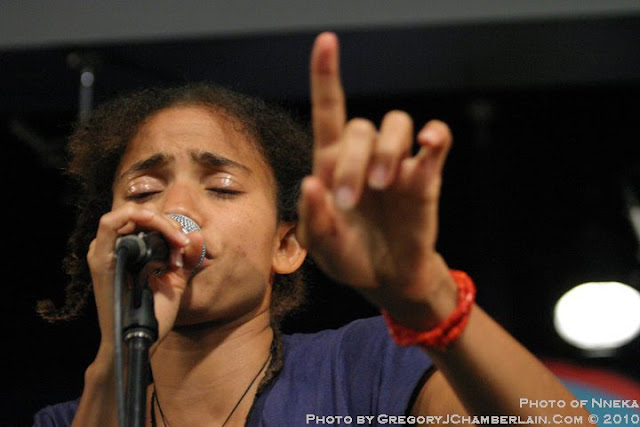 MusicLoad presents Nneka - Photo by Gregory J. Chamberlain