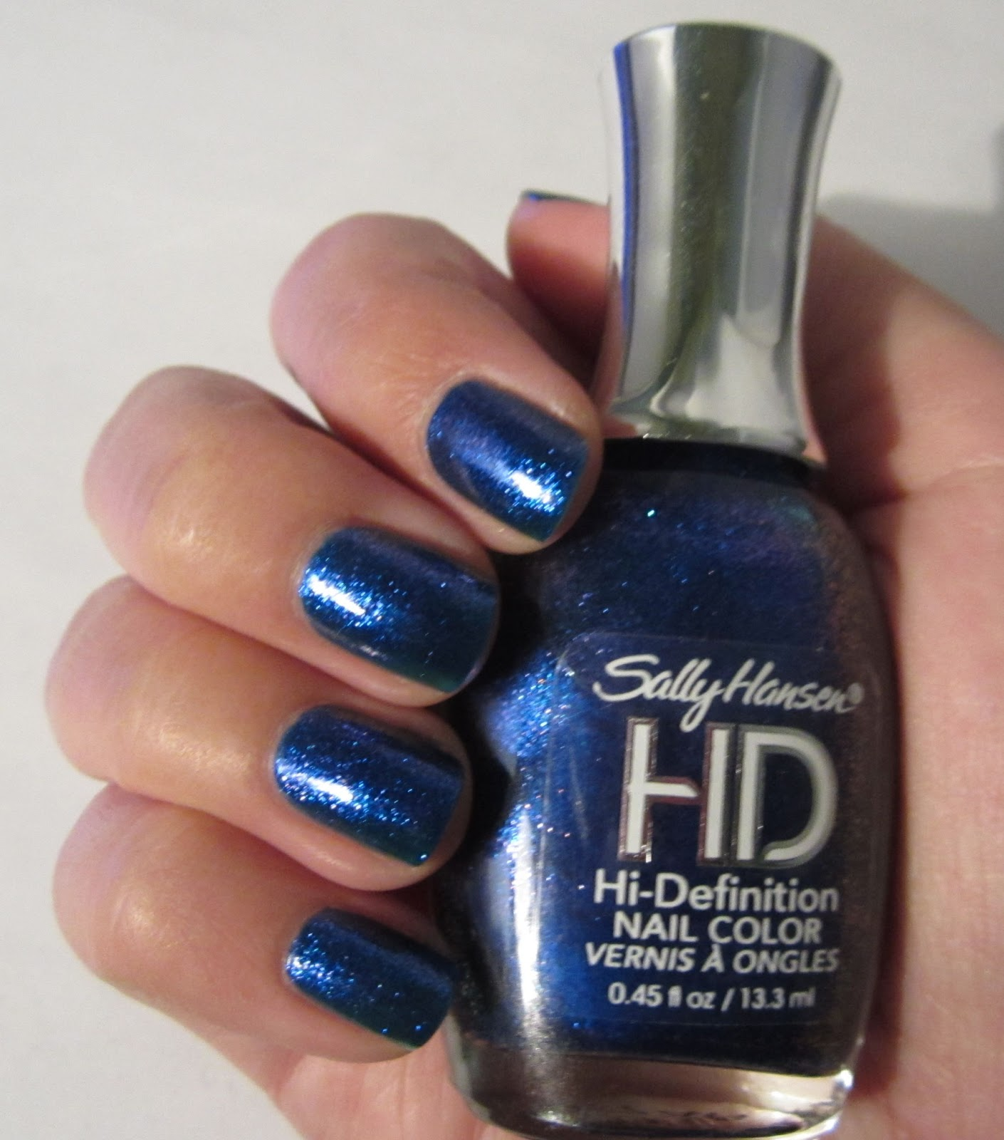 The Nailbourhood: Sally Hansen HD High Definition Nail Color in 16 Laser