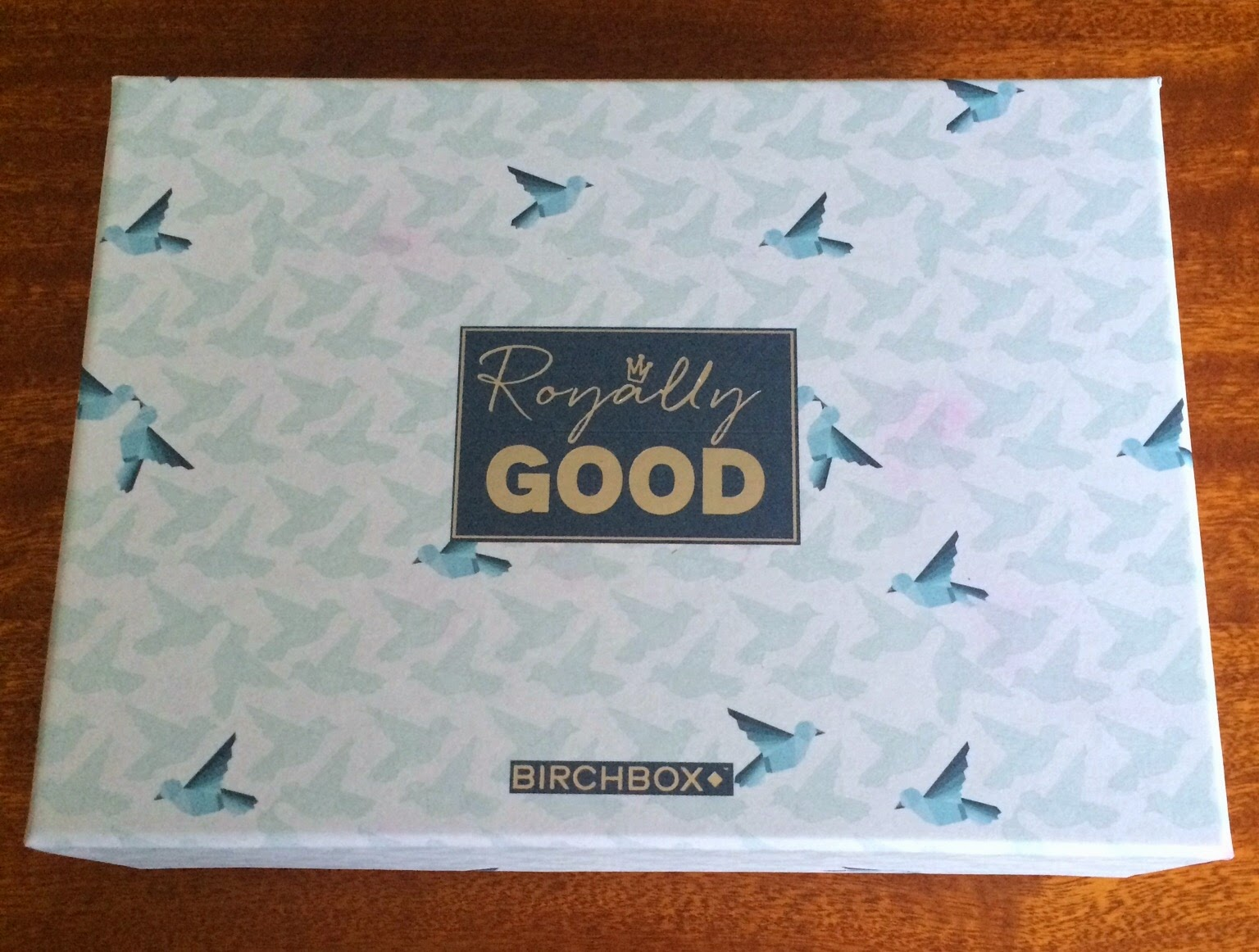 royally good blue birchbox april review
