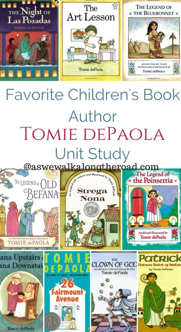 Tomie Author Study Activities Depaola