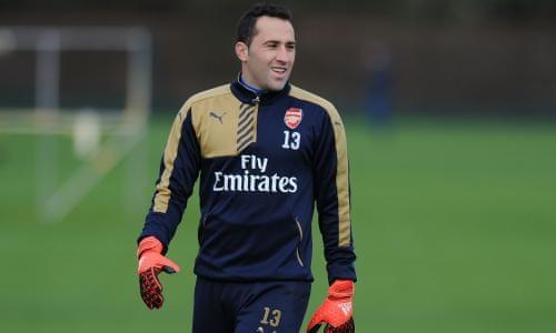 David Ospina trong màu áo Arsenal