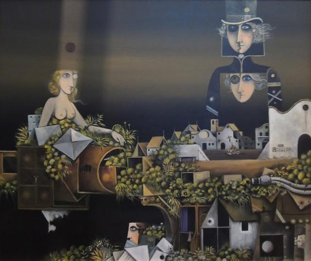 Eduard Alcoy pintura surrealista catalana