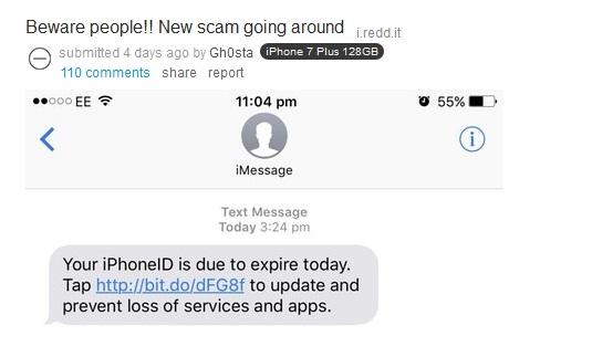 Awas Scam ! Begini Bentuk Baru Pencurian ID Apple, Jangan Pernah Kunjungi Linknya