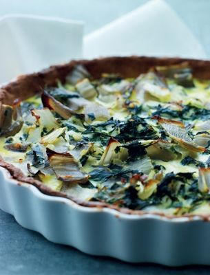 Swiss chard and skyr tart - Nordic Vegetarian Diet Recipes