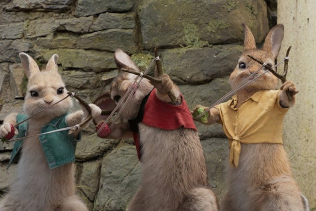 'PETER RABBIT' (2018) – Adventure Brings to Life Iconic Characters. Review of the 2018 live action film. All text © Rissi JC