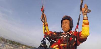 Anggota DPRD Muara Enim Tewas Terjun Bebas Setelah Parasutnya Melintir