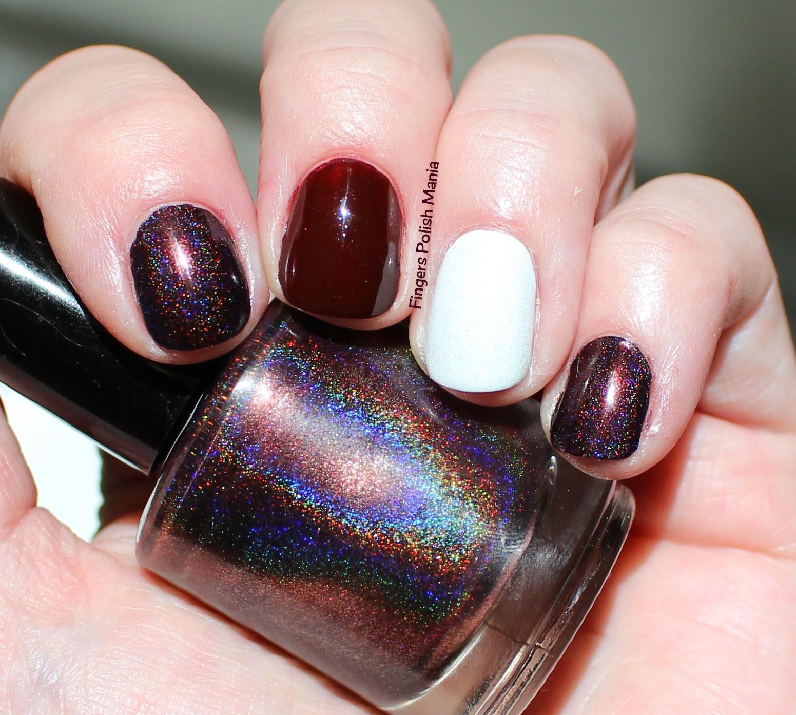 fingers polish mania: Enchanted Polish Sparkling Red Wine