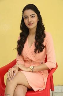 Rukshar Mir in a Peachy Deep Neck Short Dress 065.JPG