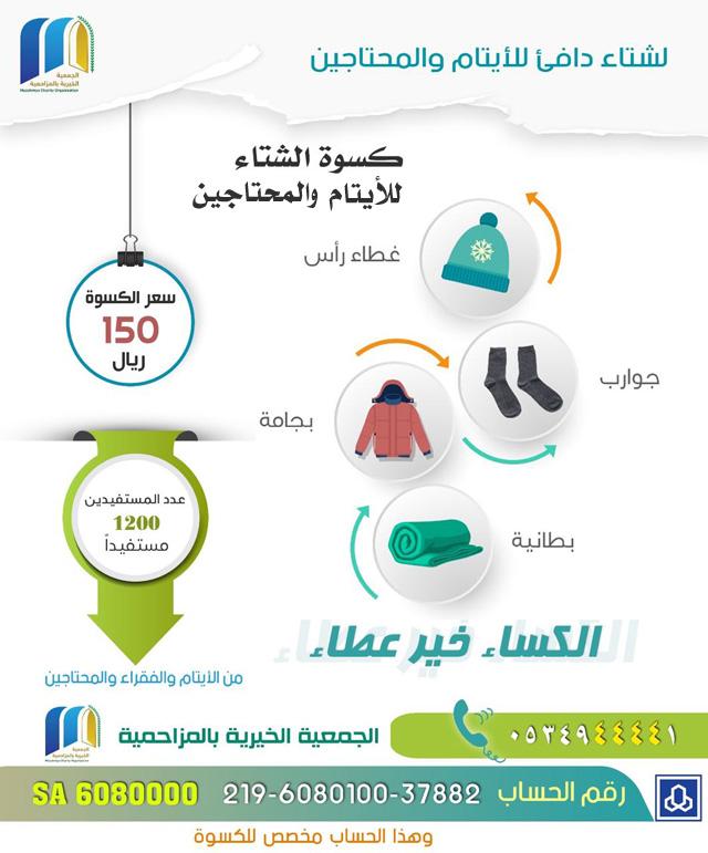 ايتام وفقراء بيننا لم تراهم من قبل ( صورة )