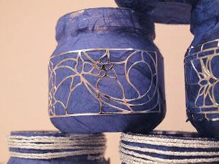 Portalumini con vasetti dell'omogeneizzato