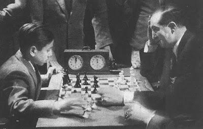 Partida de ajedrez amistosa Arturito Pomar vs. Miguel Najdorf