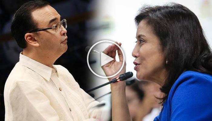 Sen.Cayetano May Kagimbal-gimbal na Mensahe kay VP Leni