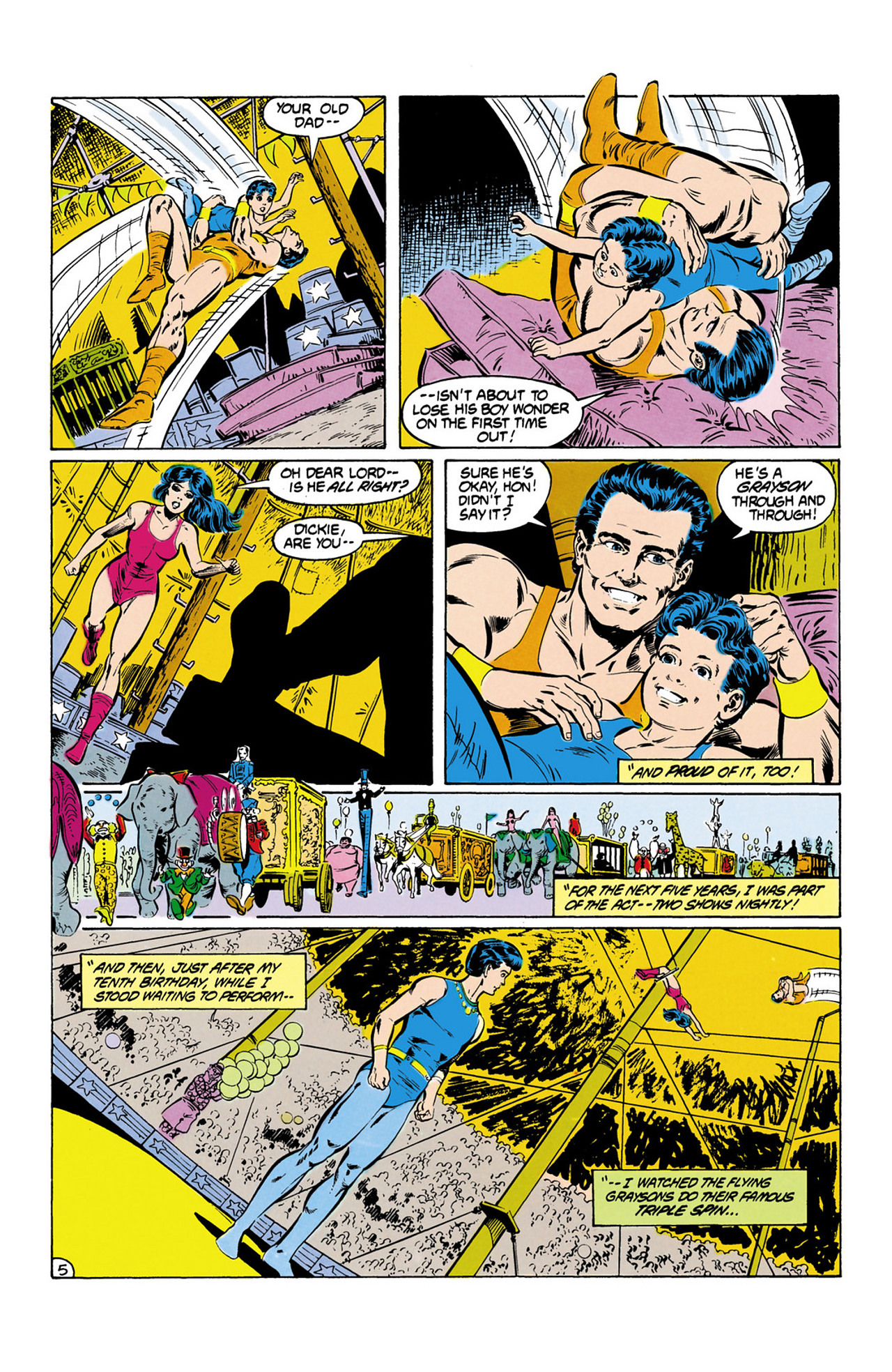 Read online Secret Origins (1986) comic -  Issue #13 - 6