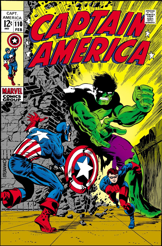 Read online Captain America (1968) comic -  Issue #110 - 1