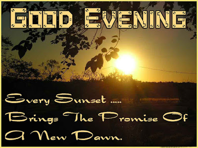 good evening sms in english