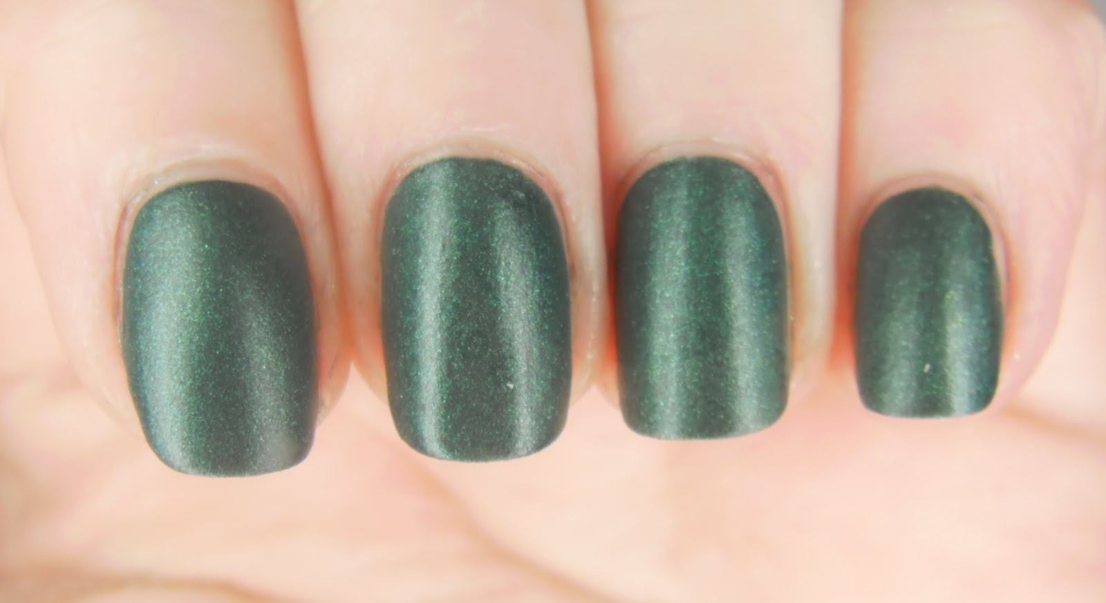 SpecialGirl Nails: Green Week: Revlon Matte Suede Emerald City