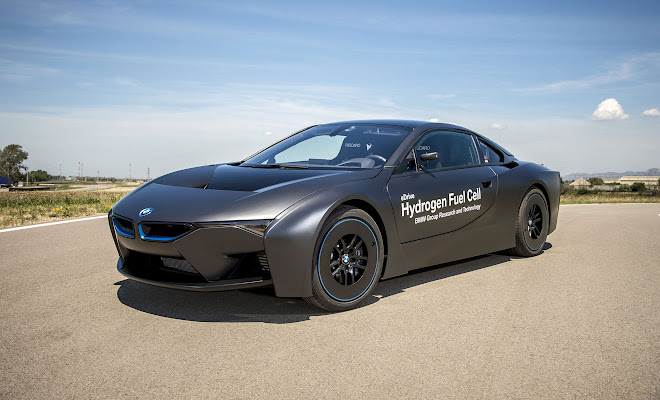 BMW i8 fuel cell prototype