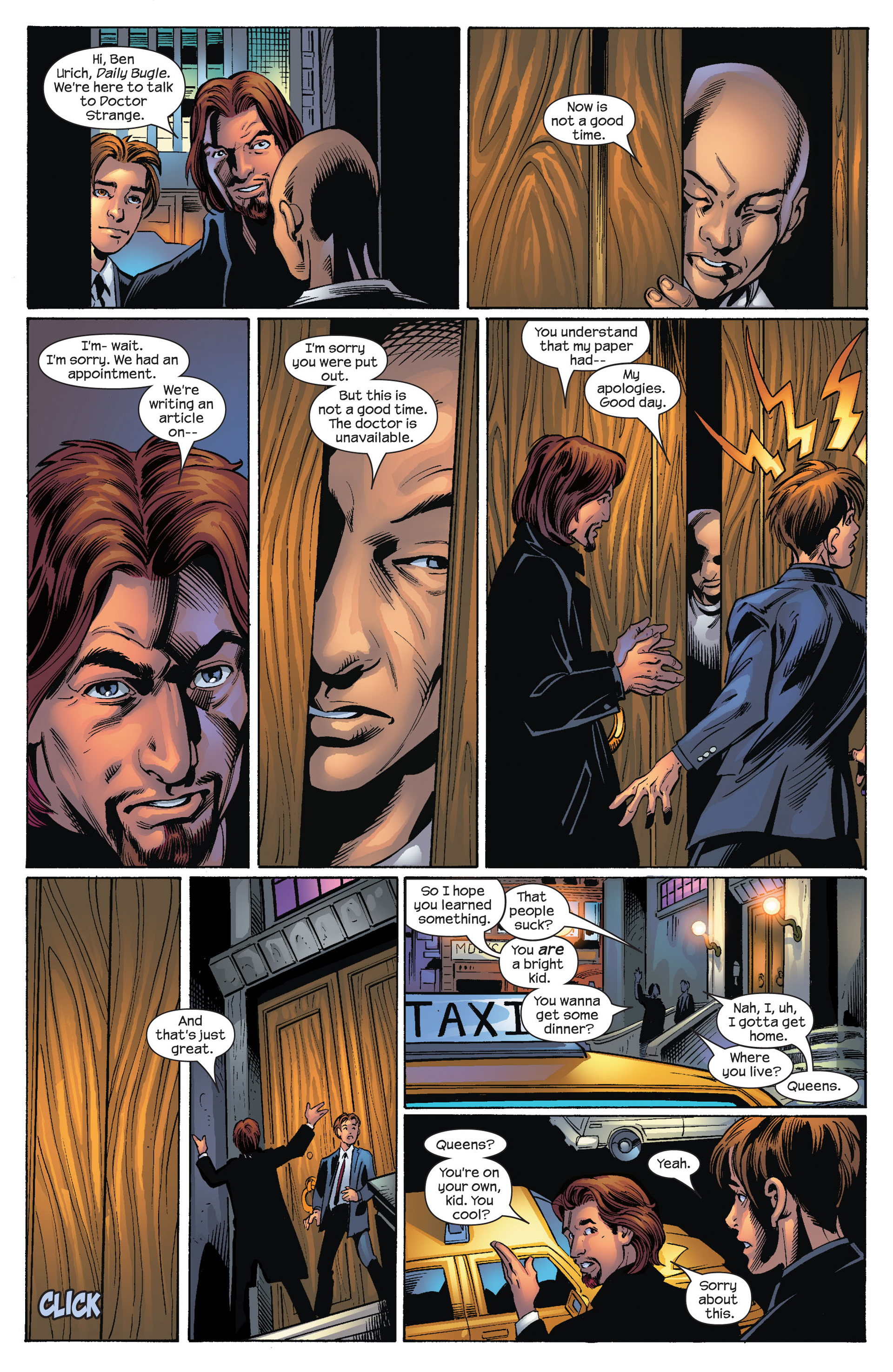 Read online Ultimate Spider-Man (2000) comic -  Issue #70 - 16