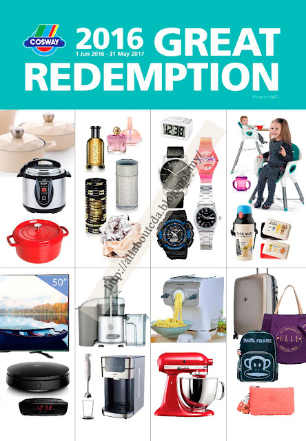 Cosway Great Redemption 2016