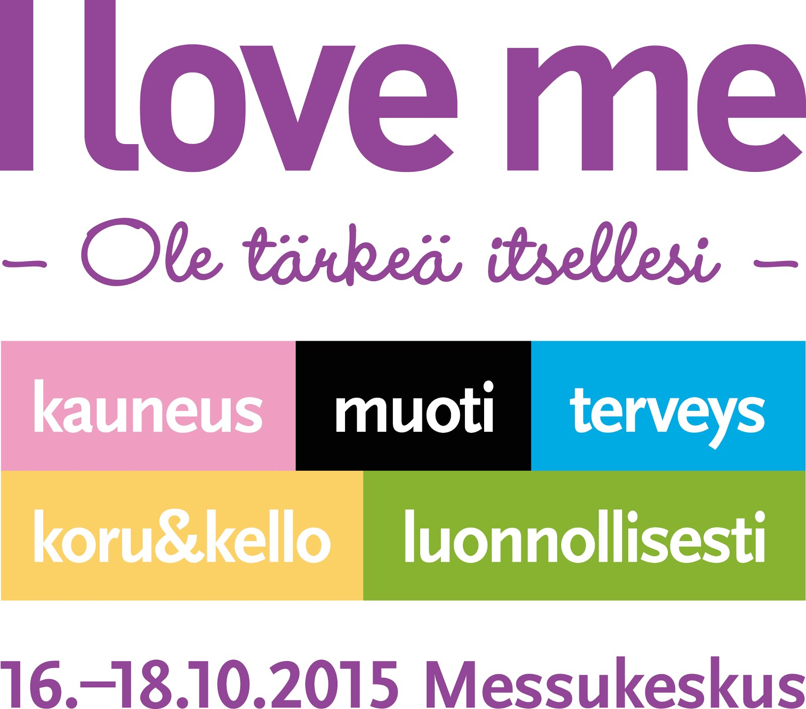 I Love Me 2015 -messut