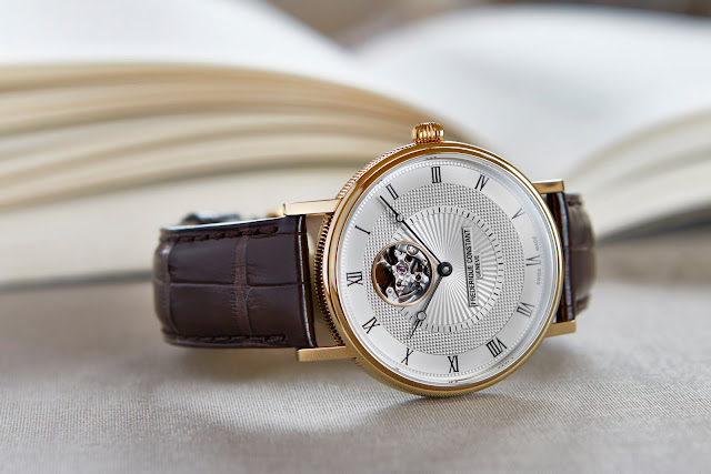 FREDERIQUE CONSTANT THE CLASSICS AUTOMATIC HEART BEAT blog debajo del reloj 2