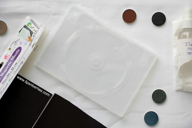 how to make Z palette with DVD case