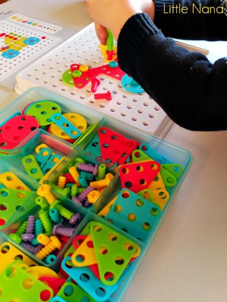 juego desarrollo ninos mosaic art