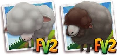 Farmville 2 grey Merino