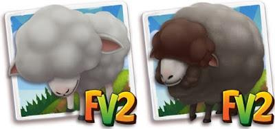 Farmville 2 grey Merino