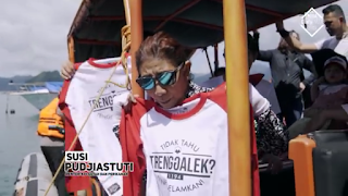 Menteri Kelautan dan Perikanan RI Susi Pudjiastuti puji keindahan Kabupaten Trenggalek