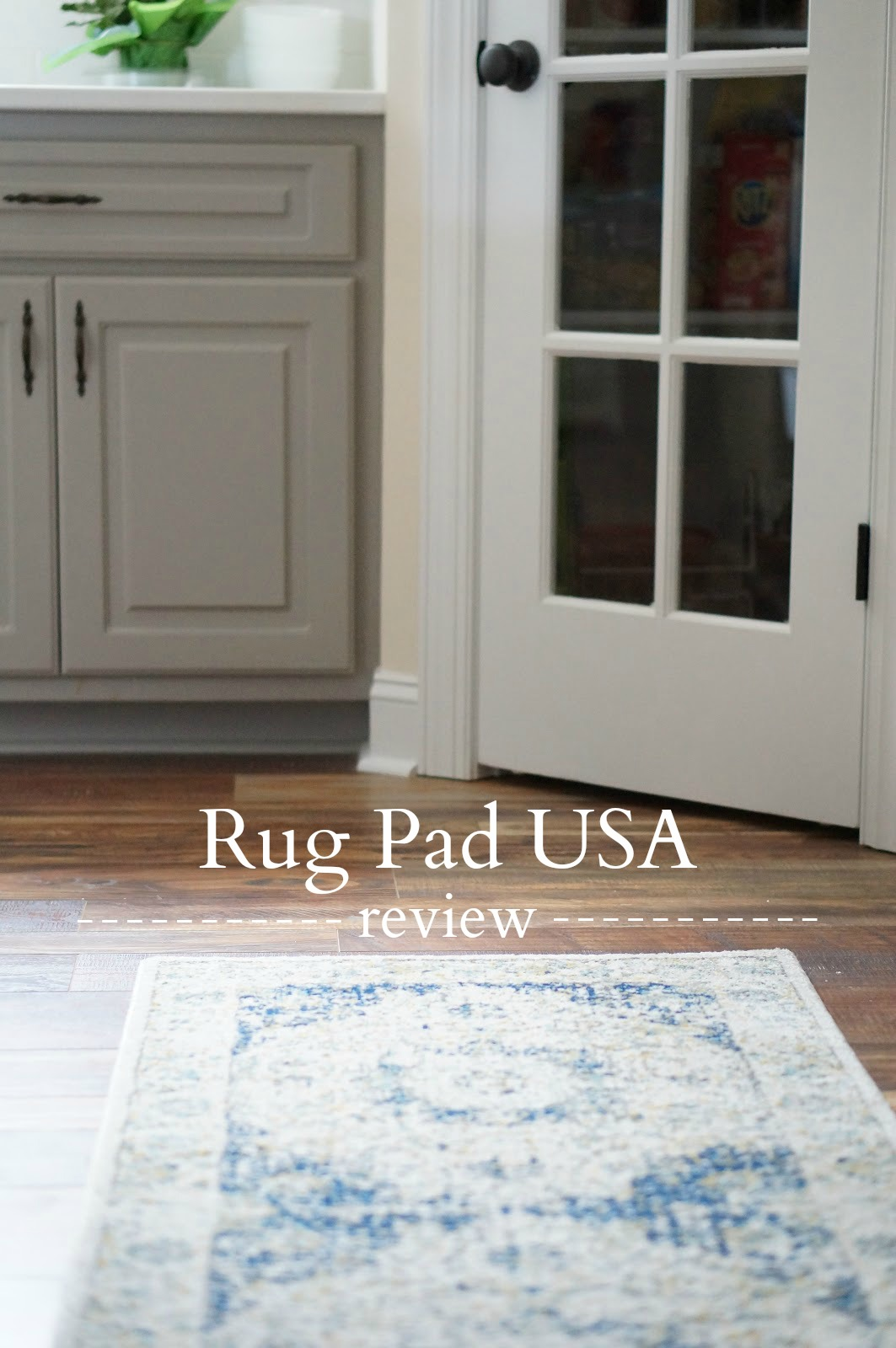 Rebecca Lately Rug Pad USA Anchor Grip Review