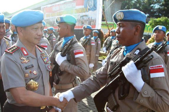 Anggota, Polres Selayar , Jadi Driver Barracuda, Pasukan PBB ,Di Sudan