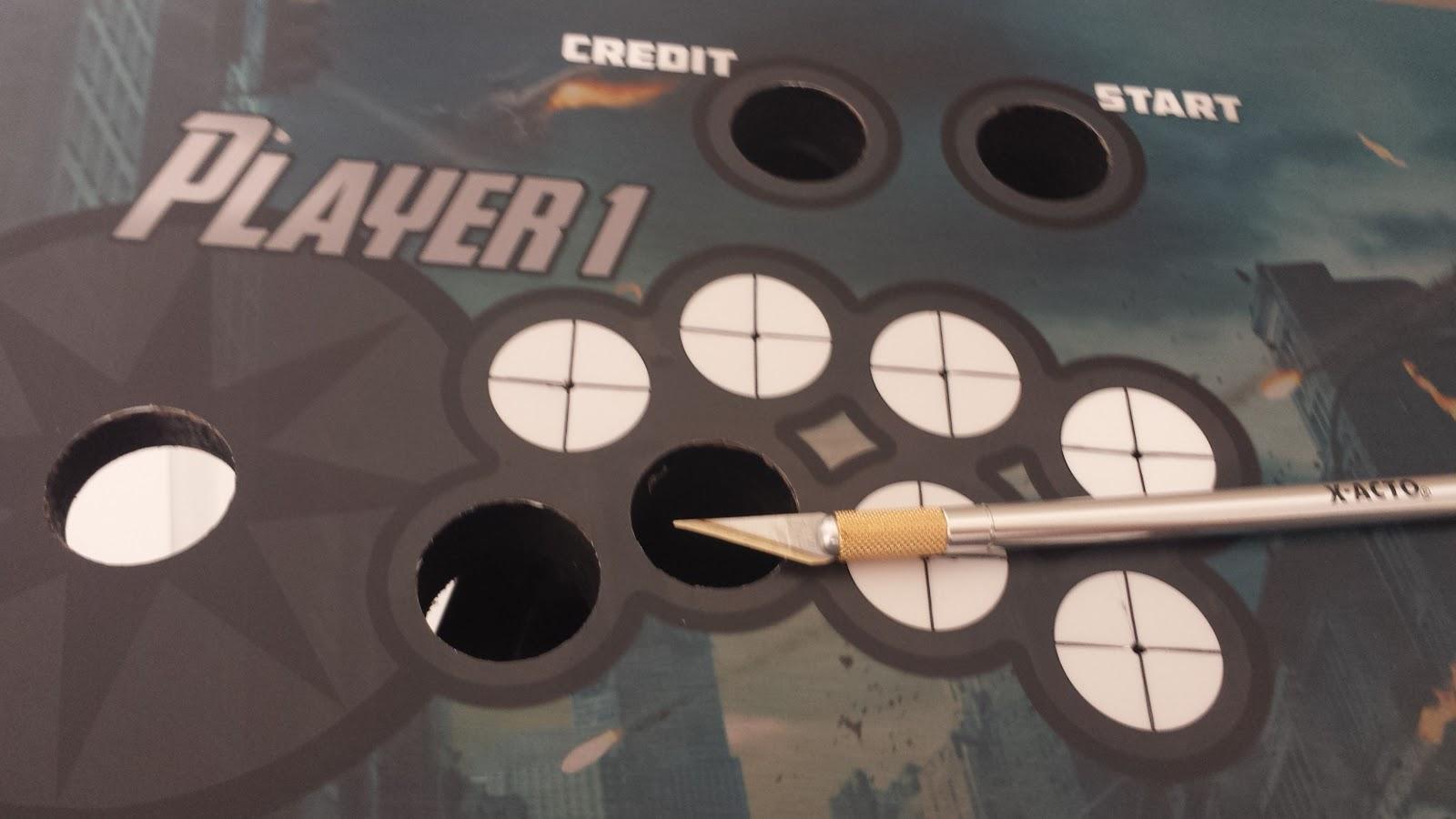 Arcade Cabinet Control Panel – Desenhos Para Colorir