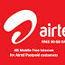 Airtel Data Surprises for Postpaid customers