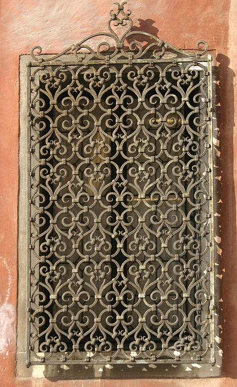 Art and interior wrought iron the of handcraft